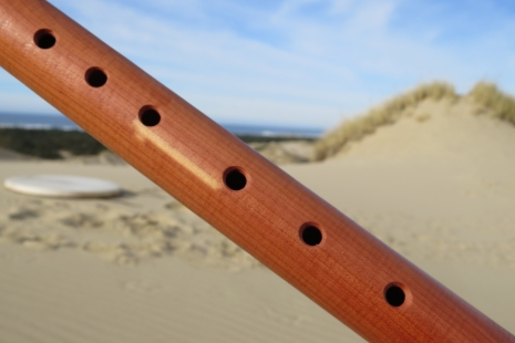 Key of F, Aromatic Cedar & Mahogany Native American Indian Flute By dg Hatch