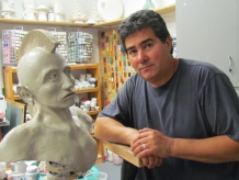 Clay sculpture by dg Hatch 2013